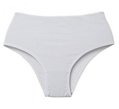 Calcinha Branca Pós-Parto com Algodão Frente Dupla - ISA 6179
