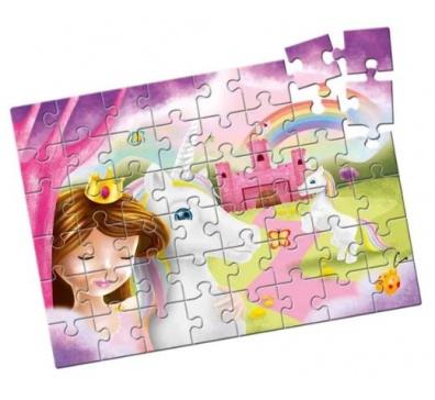 Quebra-Cabeça Grandão Unicórnios 48 peças - Estrela