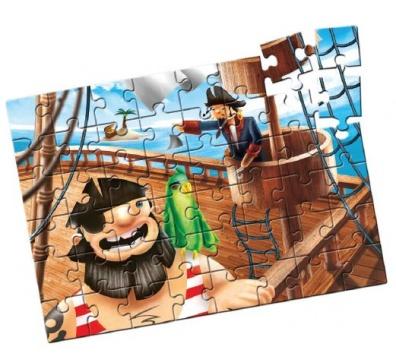 Quebra-Cabeça Grandão Piratas 48 peças - Estrela