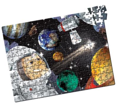 Quebra-Cabeça Sistema Solar 200 peças - Estrela