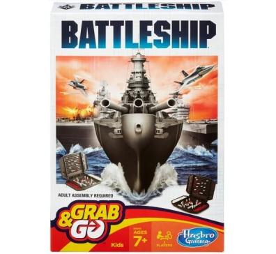 Jogo Battleship Grab & Go - B0995 - Hasbro