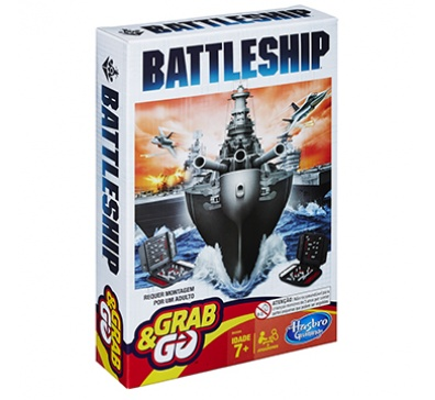 Batalha Naval Grab & Go Original - Hasbro