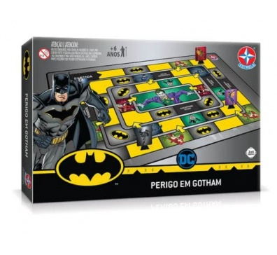 Jogo Batman Perigo em Gotham - Estrela