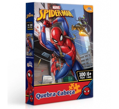 QUEBRA-CABECA 100 PCS HOMEM ARANHA / 8013