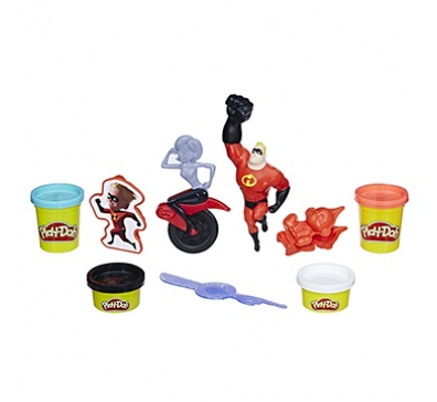 MASSINHA PLAY-DOH DISNEY INCREDIBLES / E1939 HASBRO